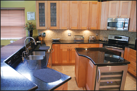 Granite countertops pompano beach kitchen cabinets and for Best countertops for resale