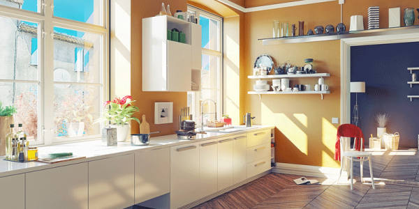 Brighten Your Day With The Top Kitchen Colors of 2016
