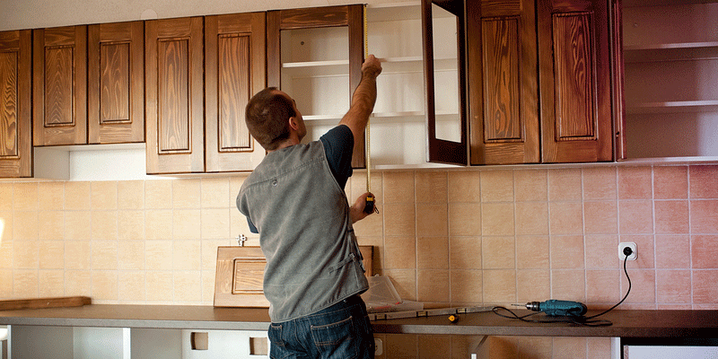How To Determine Installation Height For Kitchen Cabinets