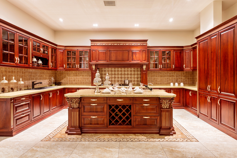 kitchen wooden design the advantages of solid wood cabinets 3511