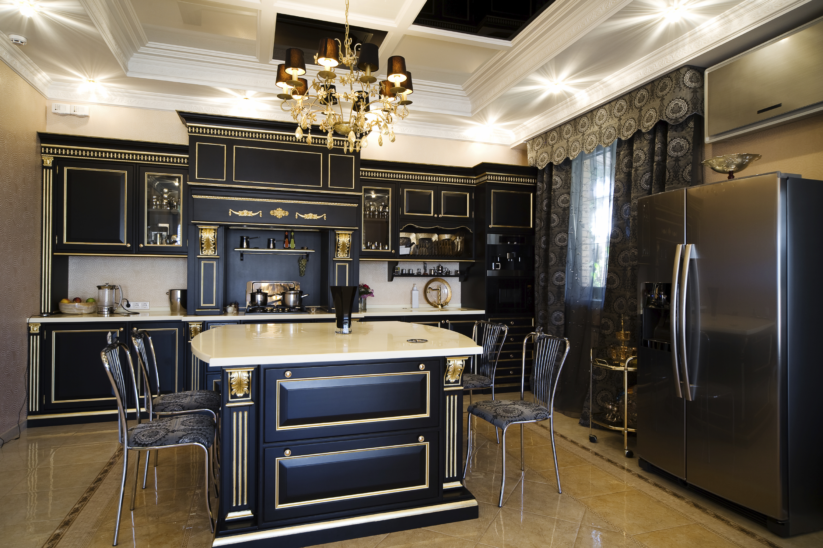 pictures of white kitchen cabinets with black appliances will black kitchen cabinets soon replace white cabinets 9883