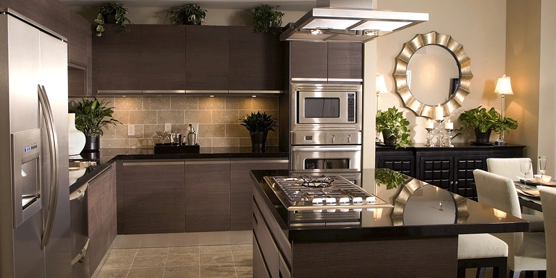 How big is the average kitchen kitchen cabinets and for Normal kitchen pictures