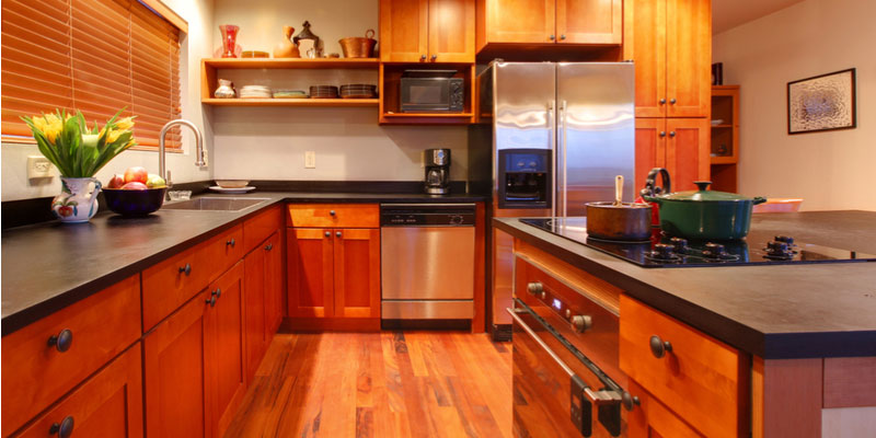 Matching Kitchen Cabinets To Flooring
