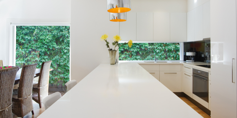 Is a Waterfall Edge Countertop Right for You?