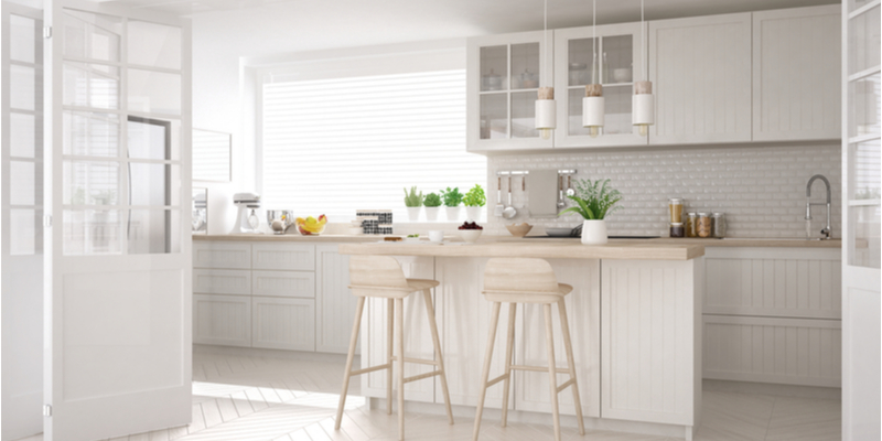 The Timeless White Kitchen