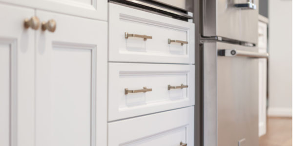 The Hardware to Enhance Shaker Style Cabinets