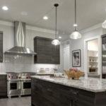 Granite with Dark Cabinets